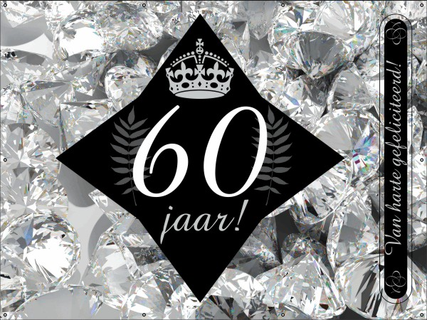Diamanten jubileum Spandoek