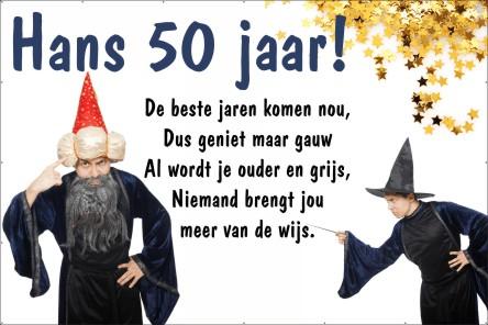 spandoek spreuken Fabulous 50 Jaar Oud DR47 | Belbin.Info spandoek spreuken