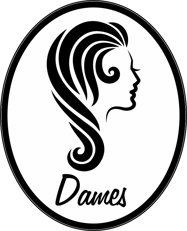 Toiletsticker Dames (Goud-metallic)