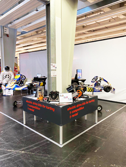 Beurs electric karting