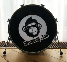 Bassdrum sticker