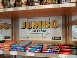 Jumbo sticker supermarkt