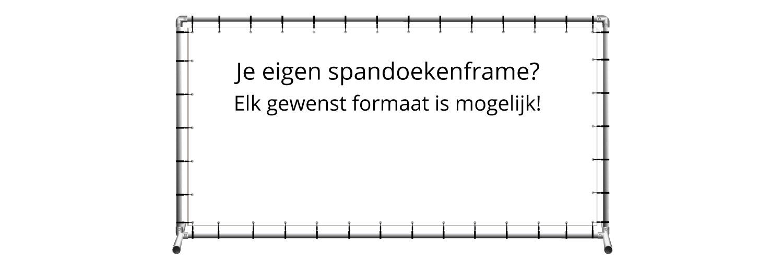 Spandoekenframe - Verlichting | 123spandoek.nl