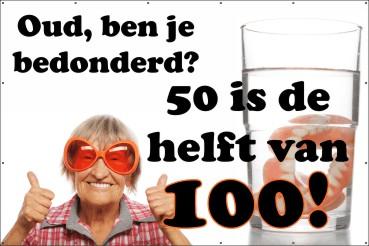 Vaak Spandoeken - Verjaardag | 123spandoek.nl &JB09