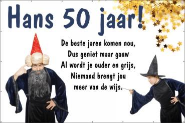 Favoriete Spandoeken - Verjaardag | 123spandoek.nl &YV87